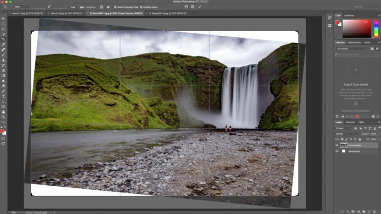 Adobe introduces content-aware cropping to Photoshop